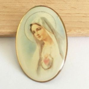 The Immaculate Heart Of Mary Lapel Pin